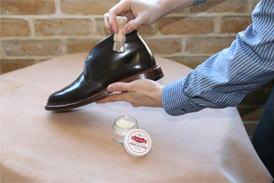 コードバン(コードヴァン)靴のお手入れ方法