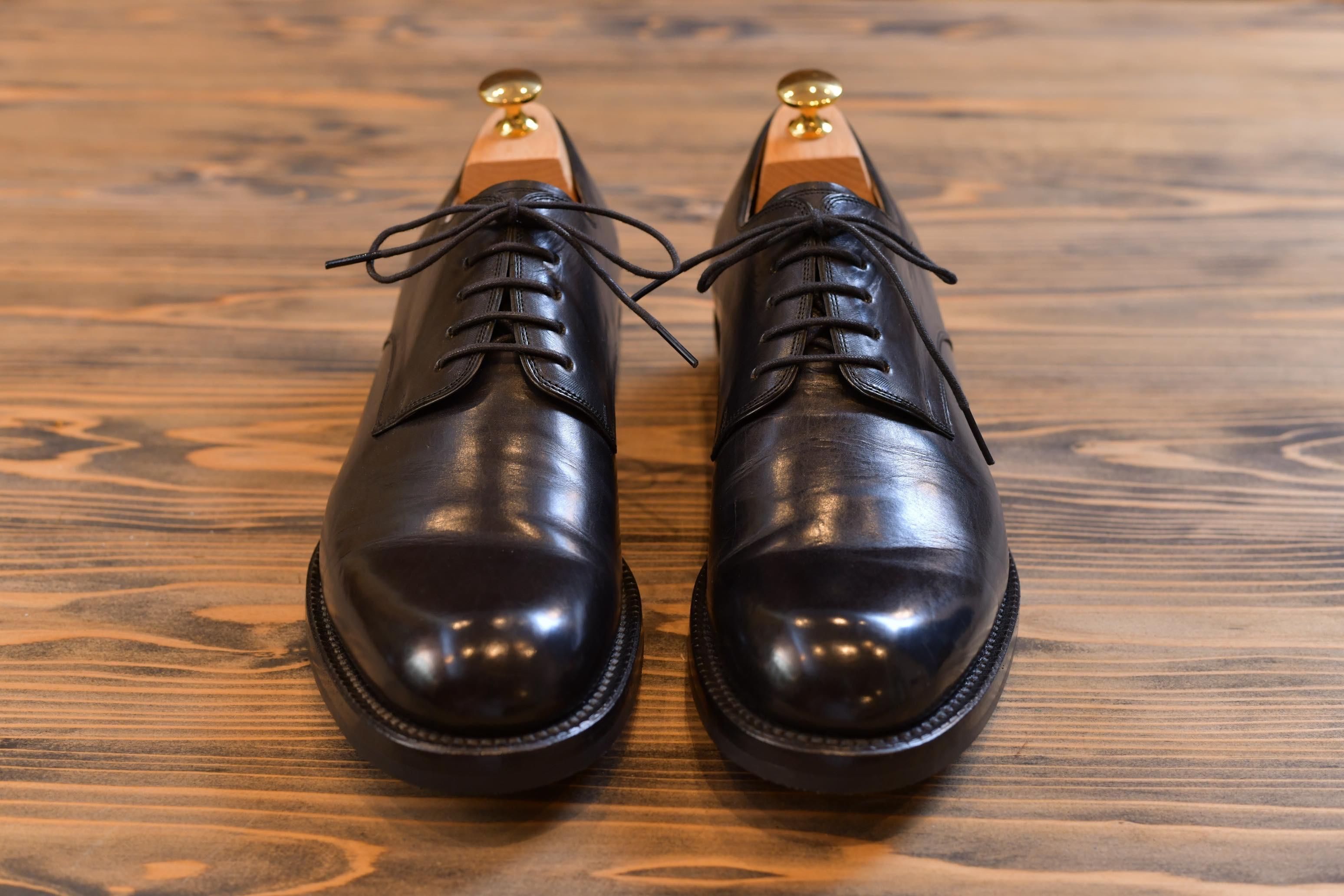 革靴(スムースレザー)のお手入れ方法