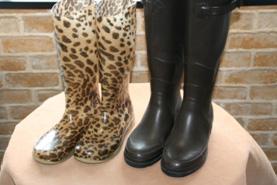 ラバー(ゴム)・ビニール・合成皮革用のブーツ、パンプス、長靴等のお手入れ