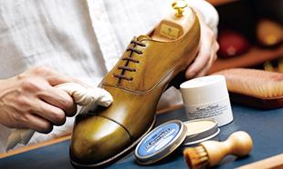 革靴お手入れ情報のイメージ
