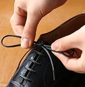 紗乃織靴紐 革紐縫掛(かわひもぬいかけ)