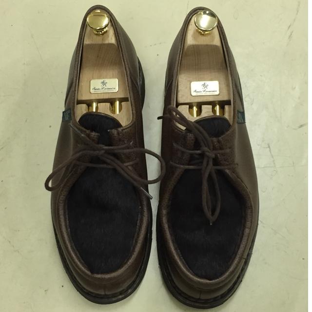 b1070122e317 Oct.15「奇抜?毛が付いた革について」 | | 靴磨き・革靴お手入れ用品 ...