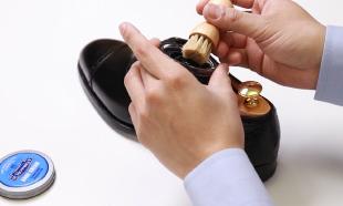 動画革靴お手入れ方法のイメージ
